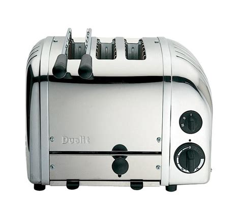 dualit toaster dualit 3 slice combi toaster polished stainless steel
