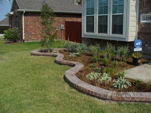 Landscaping with Bricks and Borders