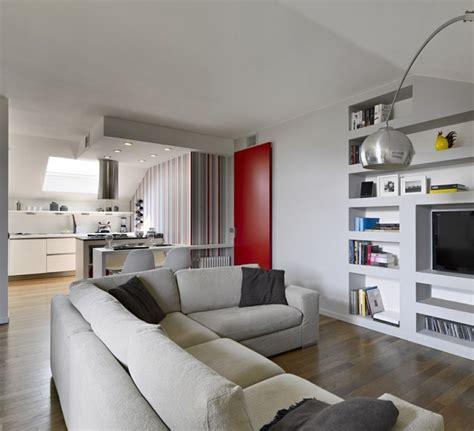 salon cuisine design decoration salon avec cuisine ouverte cuisine americaine blanche et grise cuisine moderne