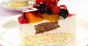 Torte Mit Früchten : joghurt torte mit gemischten fr chten rezept eat smarter ~ Lizthompson.info Haus und Dekorationen