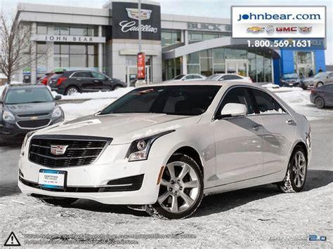 Cadillac Ats 2 0 Turbo 0 60 by Used 2015 Cadillac Ats 2 0l Turbo Luxury At