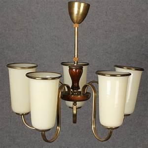Lampe Art Deco : art deco lampe mit 5 tulpen lampenschirm ebay ~ Teatrodelosmanantiales.com Idées de Décoration