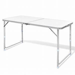 Table De Camping Leclerc : acheter table pliante de camping en aluminium avec hauteur ~ Dailycaller-alerts.com Idées de Décoration
