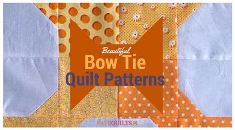 92 Bow Tie Quilt Pattern Free Get