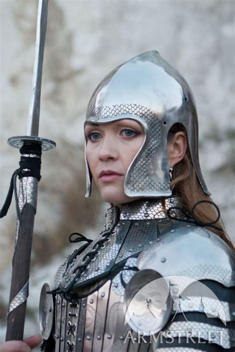 fantasy functional armor barbuta helmet  sale