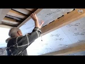 Bricolage Avec Robert : isoler les combles avec des panneaux de bois tuto brico ~ Nature-et-papiers.com Idées de Décoration