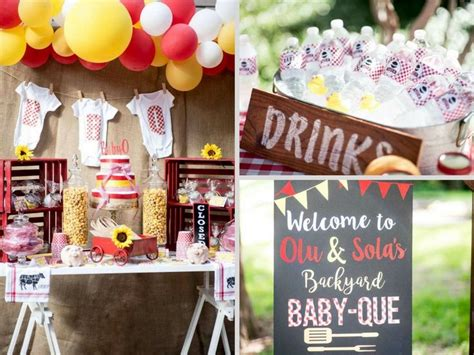 barbecue baby shower ideas 155 best baby shower bbq theme images on