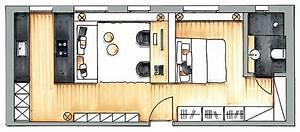 Kleines Schlafzimmer Einrichten Grundriss : 2 zimmer wohnung einrichten latest kleines moderne dekoration ideen zimmer wohnung einrichten ~ Markanthonyermac.com Haus und Dekorationen