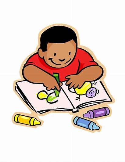 Clipart Writing Clipartpanda Clip Children Homework Doing
