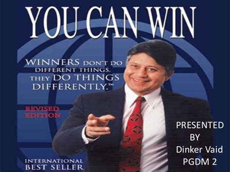 You Can Win Book Presentation