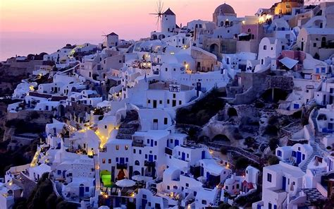 santorini greece wallpapers