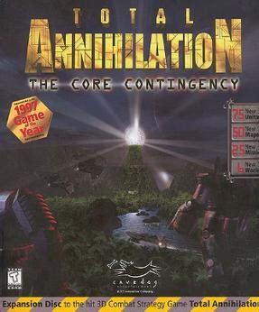 total annihilation  core contingency wikipedia