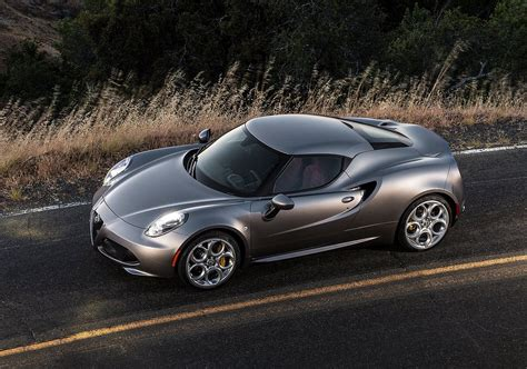 Alfa Romeo 4c Us by Alfa Romeo 4c Coupe To Be Dropped From Us After My2018