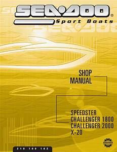 2002 Seadoo Challenger X