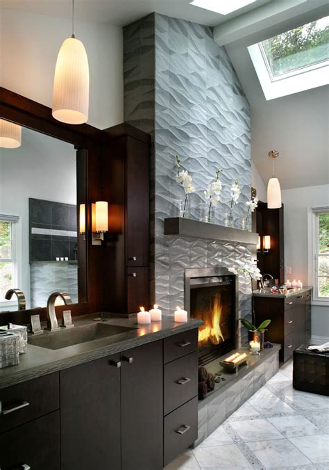 pictures of tiled bathrooms for ideas modern fireplace tile ideas
