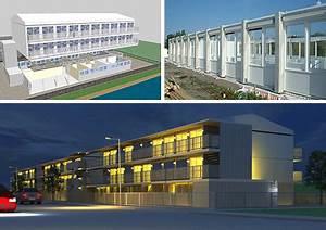 Tempohousing Salvation Army Modular Housing, Amsterdam ...