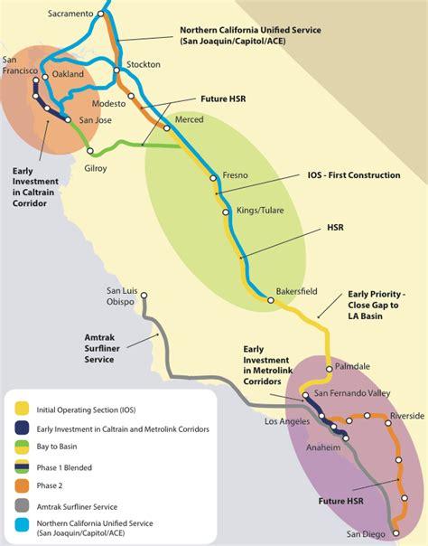 california high speed rail   net  emissions