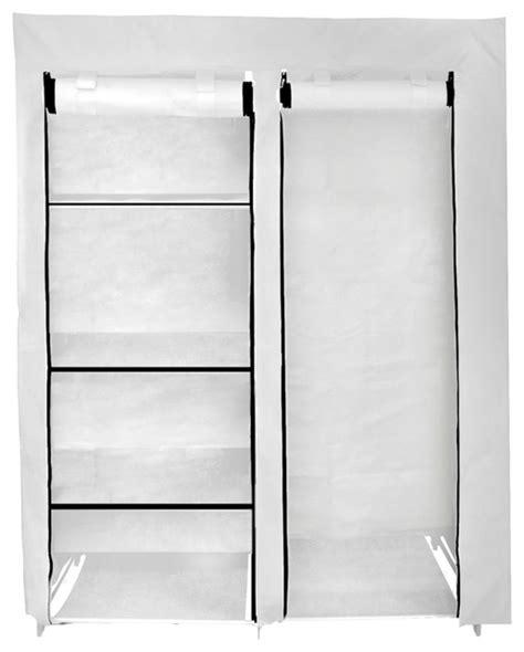 48 Inch Portable Closet In White  Modern Closet
