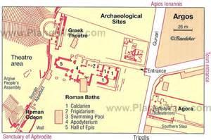 Argos Ancient Greece Map