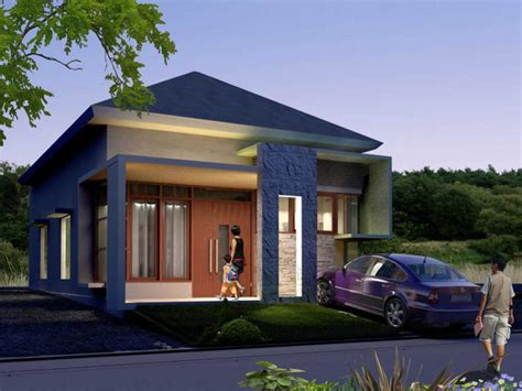 gambar rumah sederhana  unik  gambar rumah sederhana
