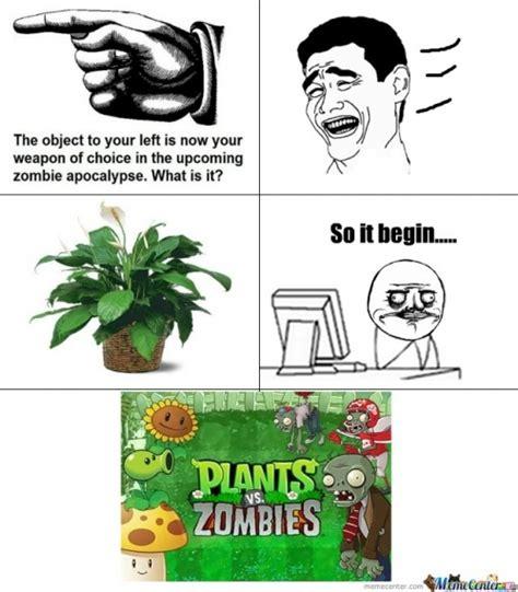 Plant Memes - plants vs zombies memes best collection of funny plants vs zombies pictures