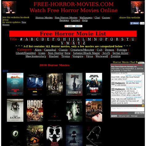 Watch Free Horror Movies Online Pearltrees
