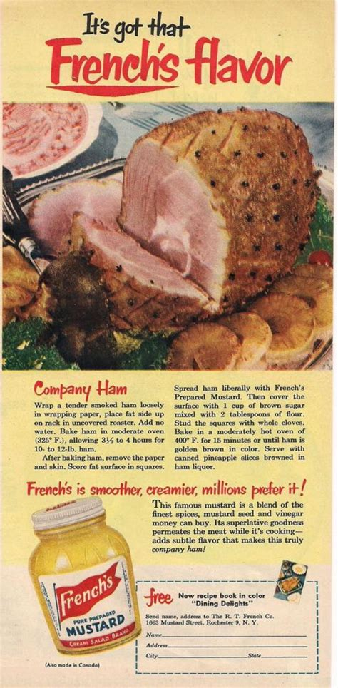 cuisine ad vintage food advertisements of the 1950s