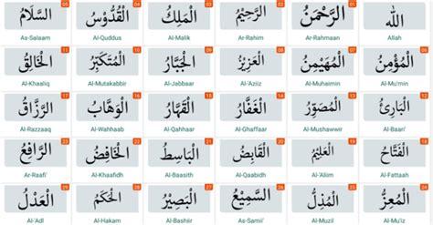 Memaknai dan mengetahui asmaul husna akan membuat seorang muslim paham akan kekuasaan allah. Teks Asmaul Husna Latin / Dalam al qur'an, istilah asmaul husna disebut empat kali yakni dalam ...