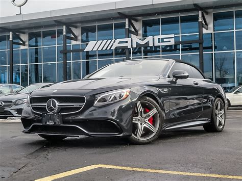 We analyze millions of used cars daily. Certified Pre-Owned 2017 Mercedes-Benz S63 AMG 4MATIC Cabriolet Convertible in Kitchener #U3692 ...