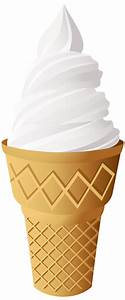Vanilla Ice Cream Cone Clipart - ClipartXtras