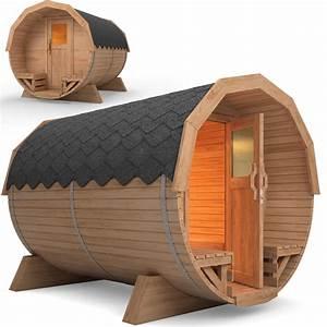 Tonneau En Bois : sauna de jardin sauna baril en bois de tonneau barrell ~ Melissatoandfro.com Idées de Décoration