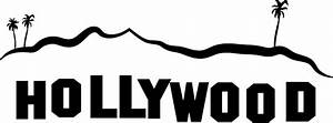 Hollywood Sign PNG File | PNG Mart