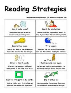 First Grade Reading Strategies