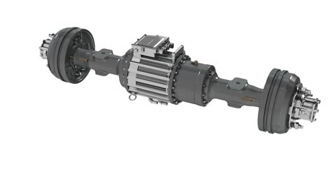 Electric Motor Axle by Driving Axles Are At The Of An Electric