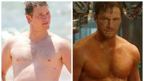 actor jurassic world gordo fotos la transformaci 243 n de chris pratt de actor