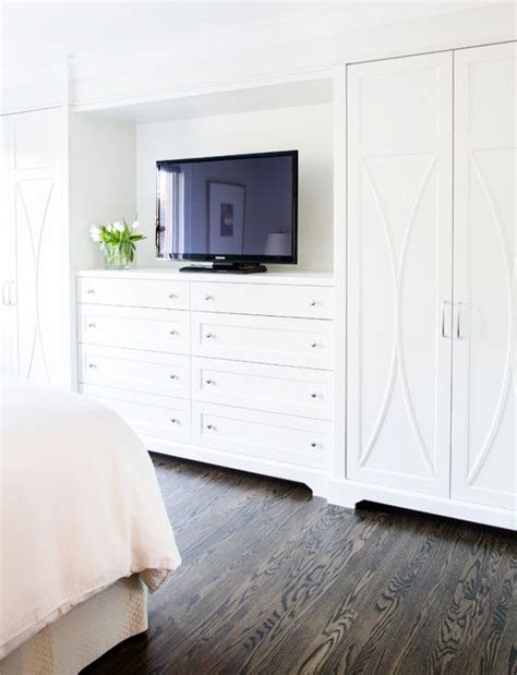 Bedroom Cabinet Design With Dresser by Built In Dresser With Tv Bedrooms Bedroom Cabinets