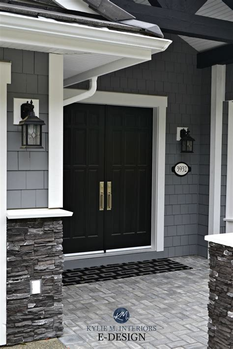 exterior dark gray similar to benjamin moore dior gray