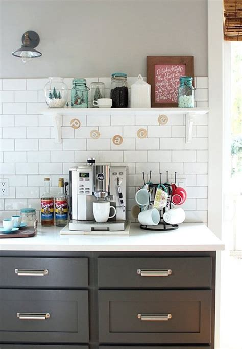 kitchen countertop decor ideas 20 charming coffee stations to up to every morning