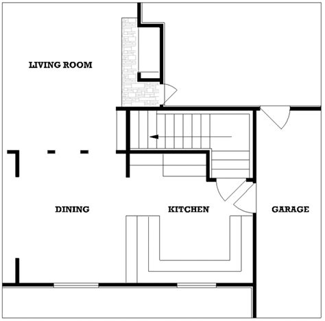 autocad kitchen design country house plan 3 bedrooms 2 bath 1395 sq ft plan 1395