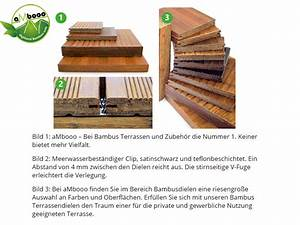 Bambus Terrassendielen Preis : ambooo terrassendielen bambus vintage farbe granit grey ma e 2200x140x20 ~ Frokenaadalensverden.com Haus und Dekorationen