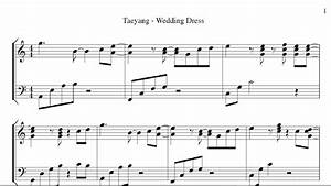Taeyang - Wedding Dress  Piano Cover