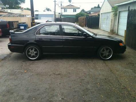 find   honda accord base sedan  door