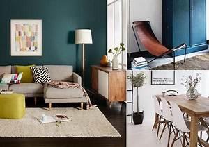 Couleur Bleu Canard Deco : inspiration couleur du bleu canard ~ Melissatoandfro.com Idées de Décoration