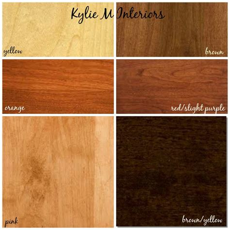 Kitchen Paint Colors With Natural Cherry Cabinets by How To Mix Match And Coordinate Wood Stains Undertones