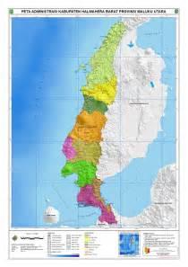 administrasi kabupaten halmahera barat peta tematik