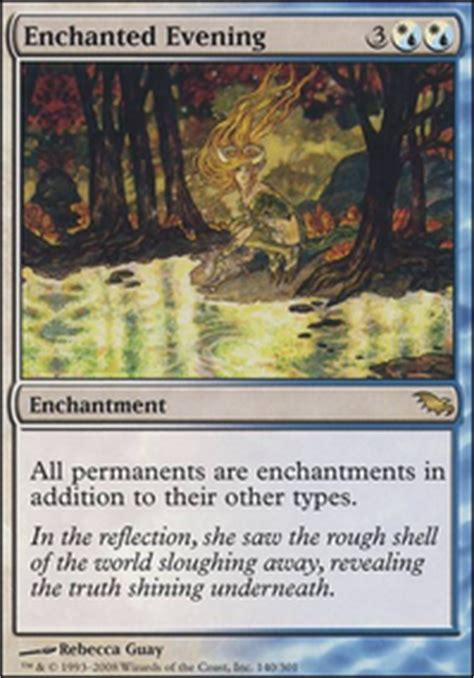Causal Enchantment Deck Mtg by Spiritual Enchantments Casual Mtg Deck