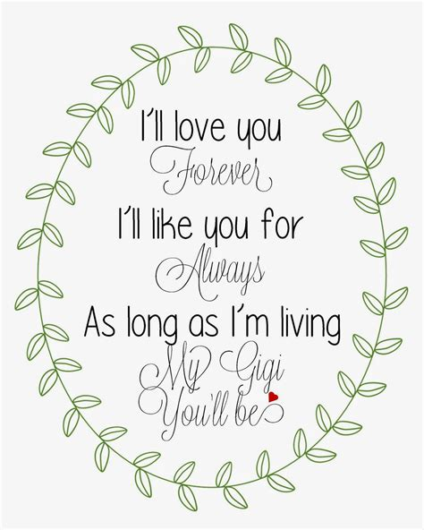 Ill Love You Forever Quotes Quotesgram