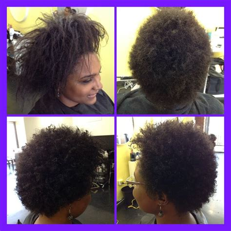 natural hair big chop beforeduringafter