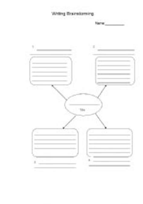 teaching worksheets brainstorming