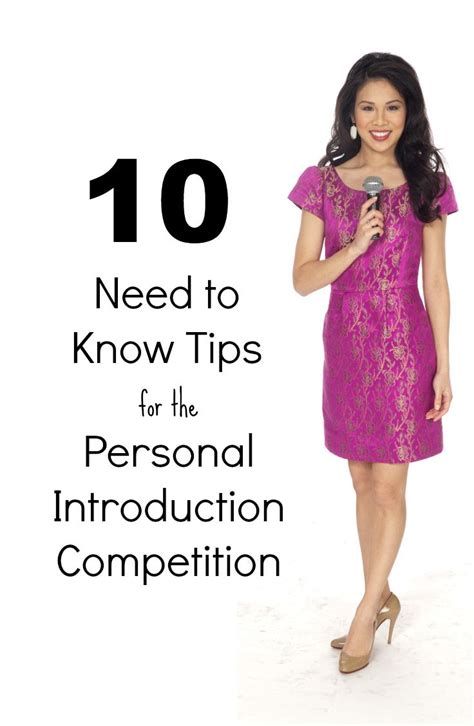 National American Miss Contestant Resume by 25 Best Ideas About Pageant Tips On